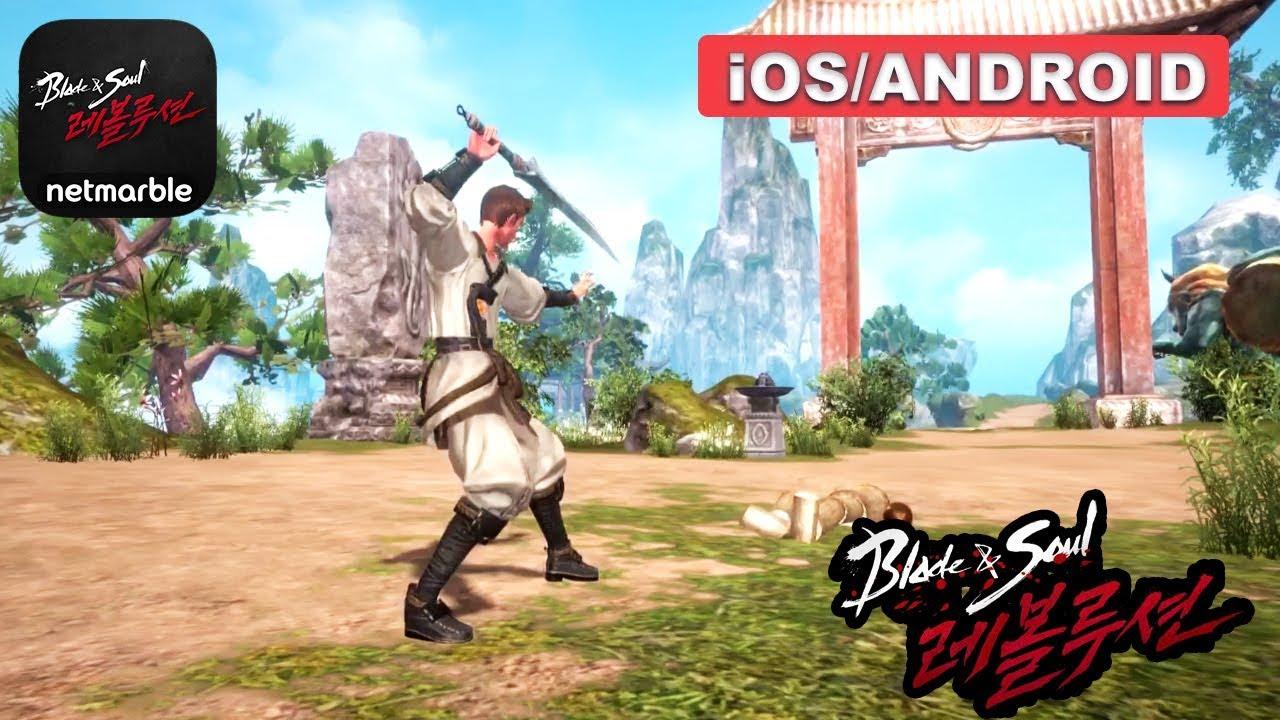 blade and soul revolution apk ios