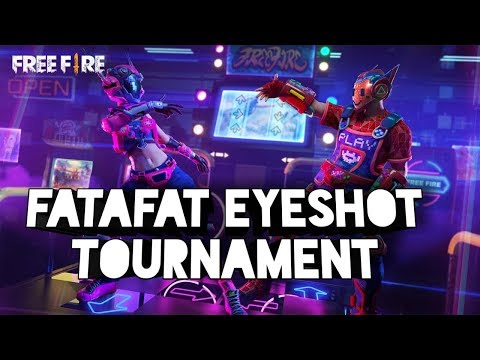 JOIN THE GIVEAWAY !!! FataFat Eyeshot Tournament Day || Free Fire Streaming Live