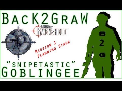 Rainbow Six 3 Raven Shield PC Mission 1 Planning phase