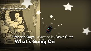 Marvin Gaye - What's Going On (animation by Steve Cutts)