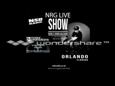 NRG Live Show -  17th Nov 16 -  Rich D and Stex - NSB Radio