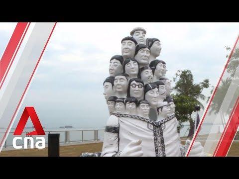 2 Public Art Installations To Commemorate Singapore's Bicentennial Unveiled