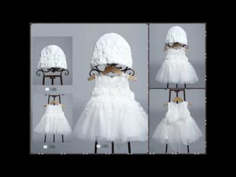 Baby Girls Christening Gowns 2017 | Shop Kids Baptism Dresses and Communion Wear