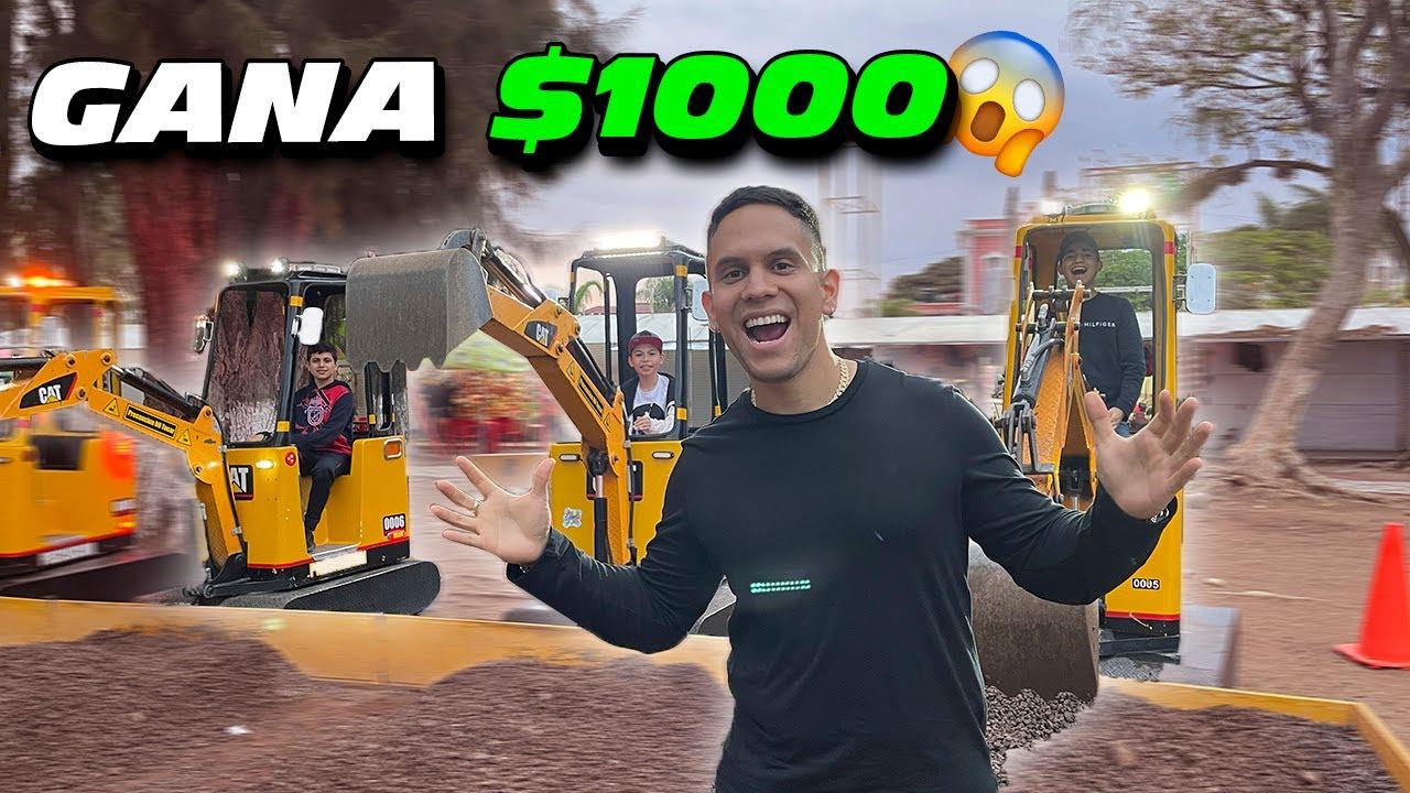 VAMOS A UNA ISLA CON LOS NIÑOS Y HACEMOS RETOS: EL QUE GANE SE LLEVA $1000 || ALFREDO VALENZUELA