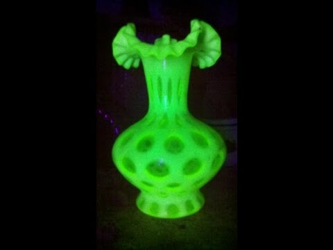 Found uranium vases in old floral shop | Organic Slant