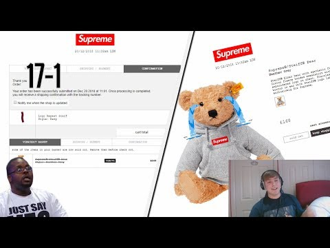 Supreme FW18 Week 18 Live Cop - The Streak Is Over (Manual Checkout)
