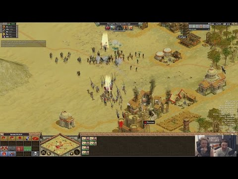 Rise of Nations Shoutcast - Prolaze(Mongols) vs Shine(Greeks)