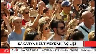 Ankara Büyükşehir ve Çankaya Belediyesi'nden Sakarya Kent Meydanı açılışı