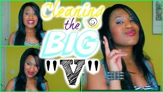 The big V: Cleaning Down Under!