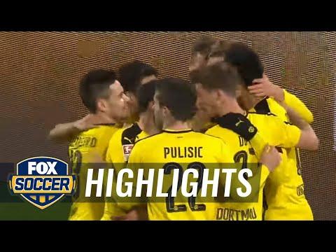 Aubameyang scores for Dortmund against Ingolstadt | 2016-17 Bundesliga Highlights