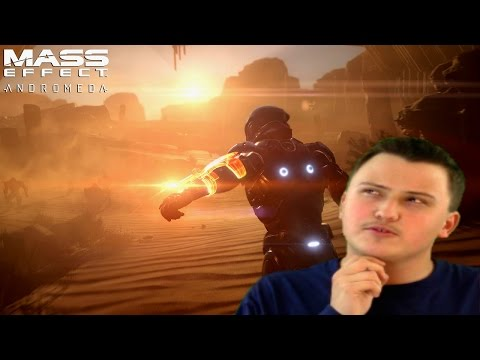 Mass Effect: Andromeda Gameplay Trailer Reaction [2016 Game Awards]