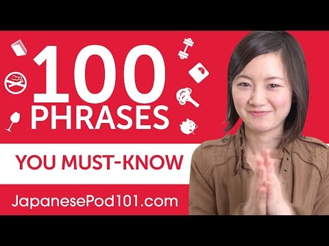 100 Phrases Every Japanese Beginner Must-Know