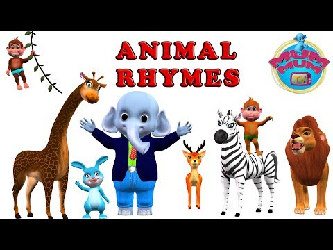 Thumbnail: Animal Songs Collection | Animal Nursery Rhymes Songs for kids, children, babies | Mum Mum TV