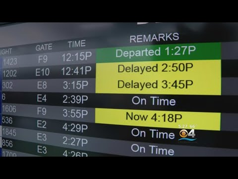 Flight Delays At South Florida Airports Blamed On Government Shutdown