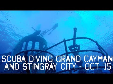 Bachelor Party Scuba Diving Grand Cayman USS Kittiwake