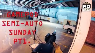 Semi Auto Sunday at Gamepod Combat Zone Pt1 - Airsoft Obsessed