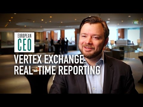 Real-time reporting of tax information | Vertex Exchange Europe 2018 | European CEO