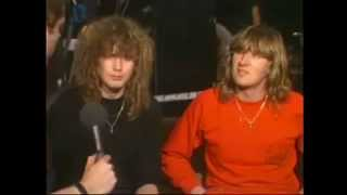 Joe Elliott and Rick Savage Interview (1983)