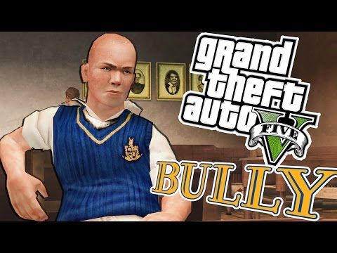 BULLY VE PARTY MOD #2(GTA 5 Komik Anlar)
