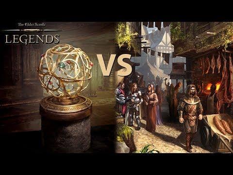 Market Archer Deck Vs RNG Singleton Mage | Community Chat Gameplay The Elder Scroll Legends