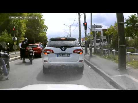 Accident DashCam Toulouse