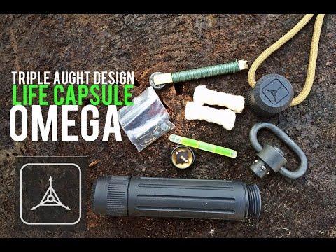 Life Capsule OMEGA- Triple Aught Design