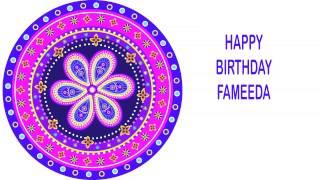 Fameeda   Indian Designs - Happy Birthday