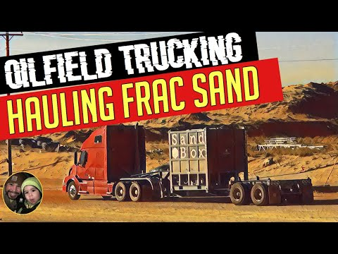 Frac Sand Hauling In West Texas. Owner Operator Oilfield Trucking. Company Messed Up My Check.
