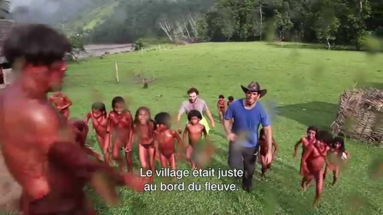 GREEN INFERNO - Lorenza Izzo : le tournage en Amazonie