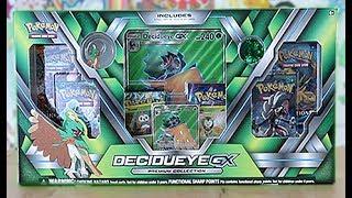 Opening A Decidueye GX Premium Collection Box!!