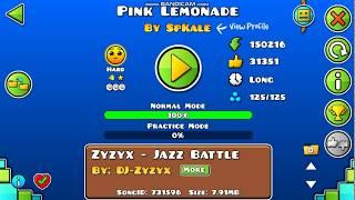 GEOMETRY DASH - PINK LEMONADE (BY SPKALE)