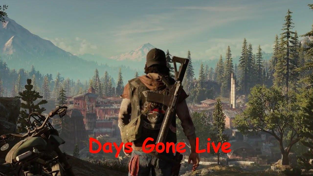 Days Gone Stream