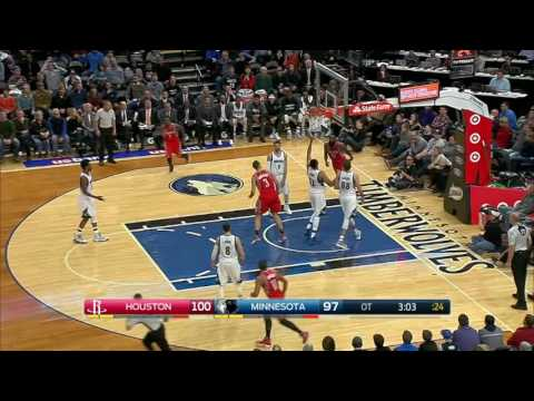Houston Rockets at Minnesota Timberwolves - December 17, 2016
