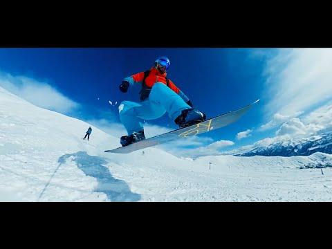 Epic Snowboarding Shots at Gudauri Ski Resort, Georgia