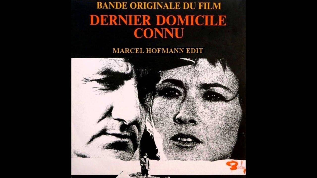 François de Roubaix - Dernier Domicile Connu (Marcel Hofmann Edit)