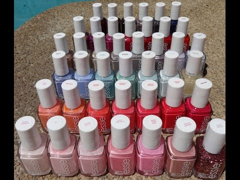 Essie Nail Polish 42 Color Swatches