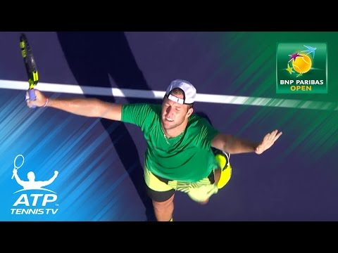 Jack Sock defeats Nishikori to reach semi-finals | Indian Wells 2017 Highlights Day 9