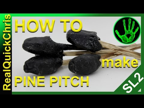 pine pitch or pine tar how to use pine resin