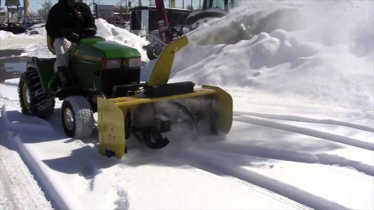 John Deere 47 Snow Blower Attachment Mutton Power Equipment