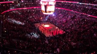 Chicago Bulls Arena Intro 4/20/14