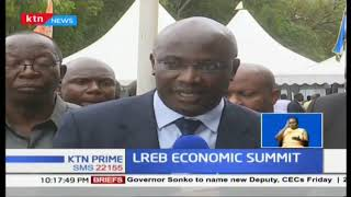 Lake Region Economic Bloc( LREB) Economic Summit held in Kisii, 14 Governors in attendance