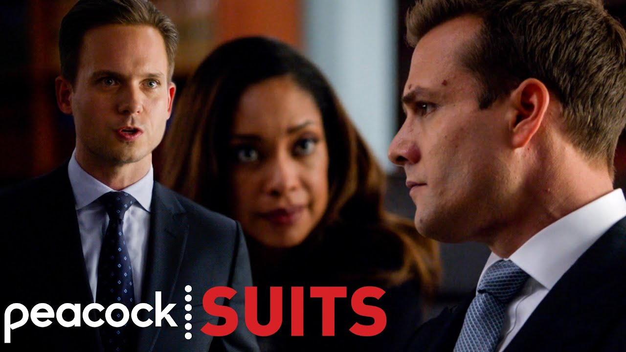 Mike and Harvey Face Off in a Mock Trial | Suits