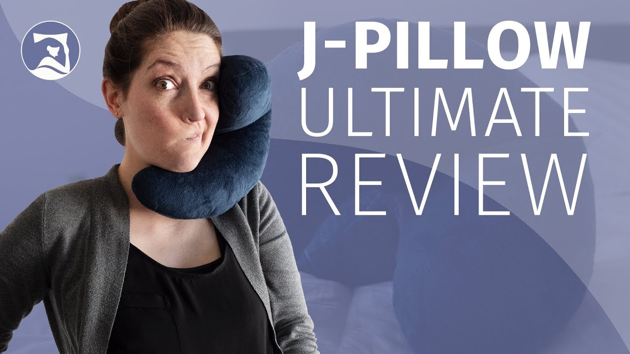 j pillow ultimate travel pillow review crazy or comfortable 2018 update