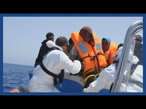 Refugee crisis in the Mediterranean: the rescue ship saving lives at sea
