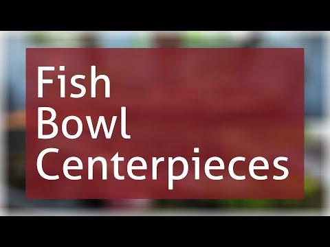 Fish Bowl Centerpieces Ideas