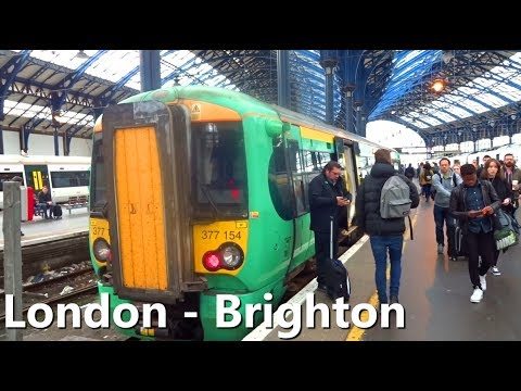 [HD] Train View Ride*** London Victoria to Brighton (HD Ride)