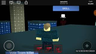 Roblox Spider man #5 the sand man turned the carnage!!!!!!!