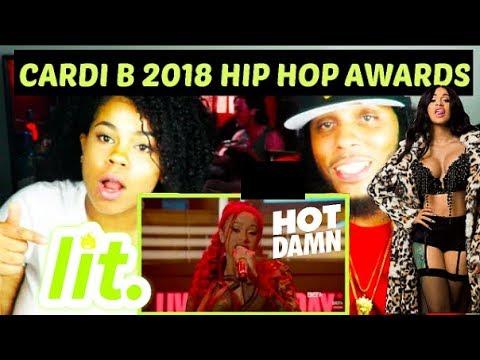 Cardi B Hip Hop Awards 2018 Performance | REACTION!! Mp3