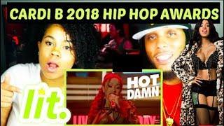 Cardi B Hip Hop Awards 2018 Performance | REACTION!!