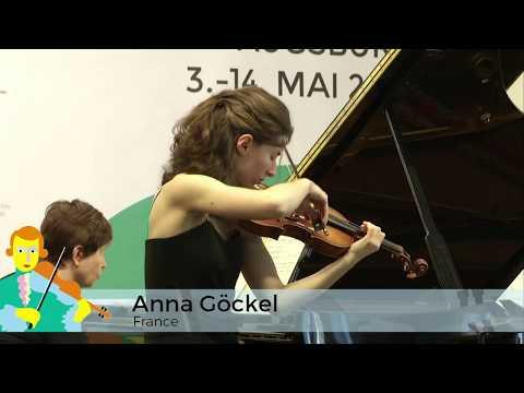 2016 Second Round - Anna Göckel (France)